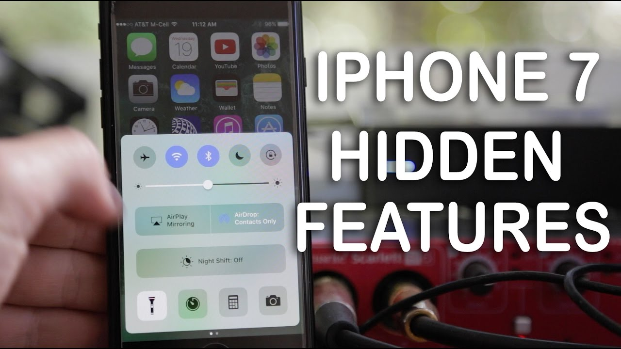 Top 10 iPhone 7 Hidden Features! - YouTube