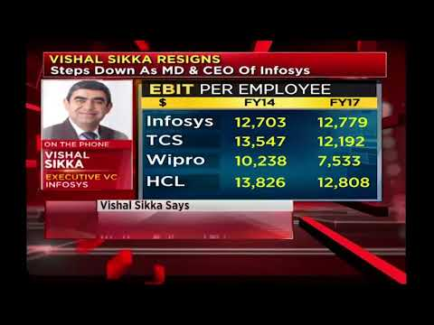 Infosys CEO and MD Vishal Sikka Resigns -  CNBC-TV18