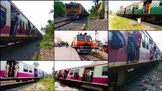  [12 in 1]  Crowded Trains of India's 2nd Busiest Kolkata Suburban Railway Network. screenshot 2
