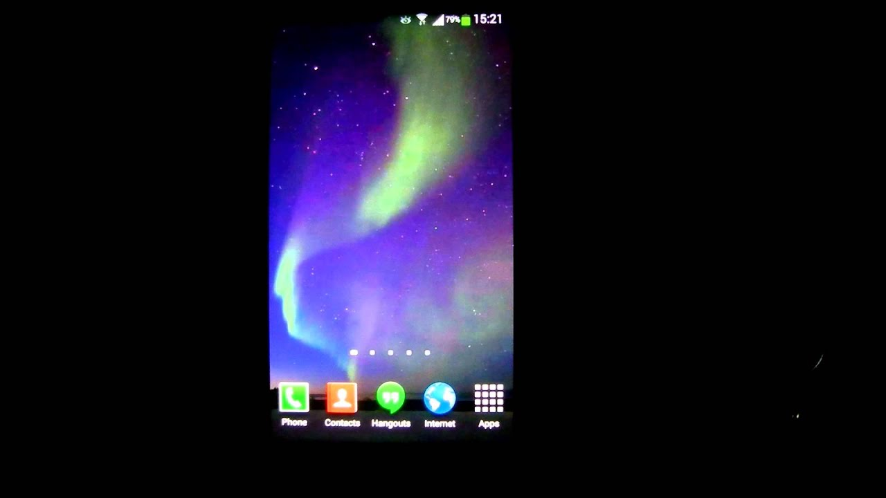 Aurora Borealis Live Wallpaper HD 2 - YouTube