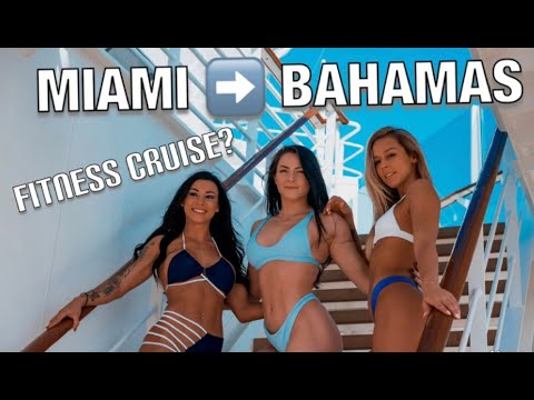 WE WENT ON A FITNESS CRUISE TO THE BAHAMAS!!! (Make sure to Click HD)
