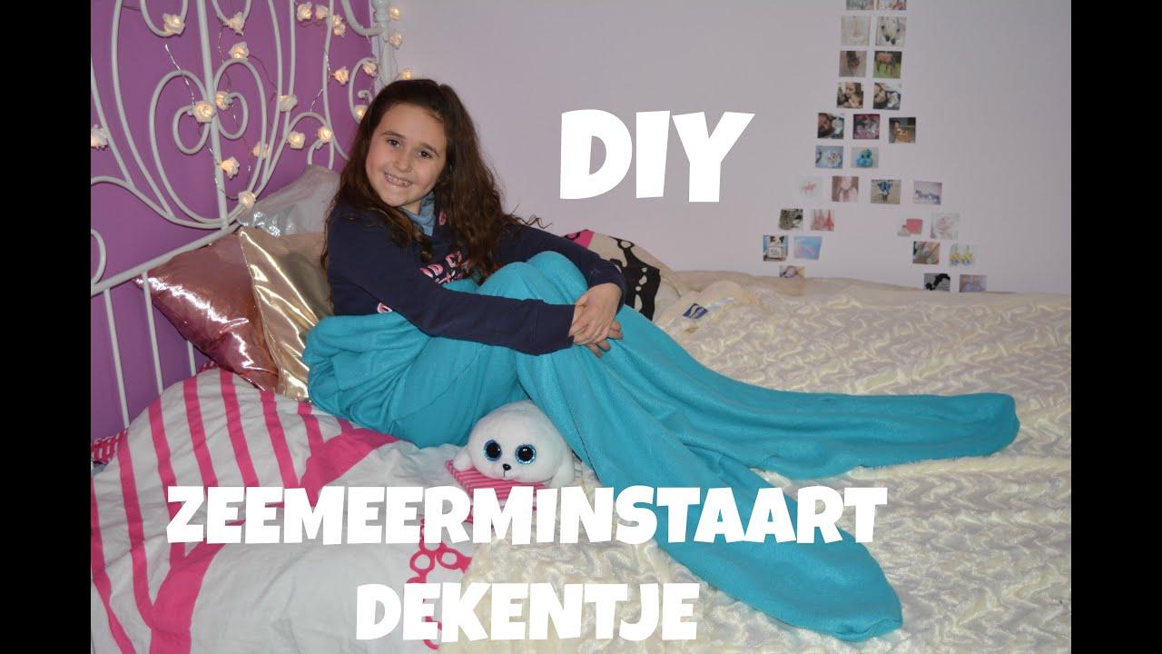 Diy Zeemeermin Dekentje Youtube