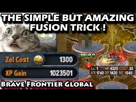 Simple But Amazing Fusion Trick (Brave Frontier Global)