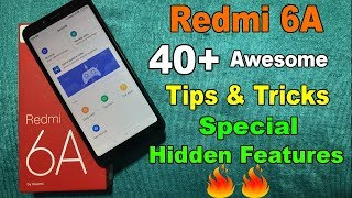 Redmi 6A Tips and Tricks | Top 40+ Special Hidden Features🔥😳🔥