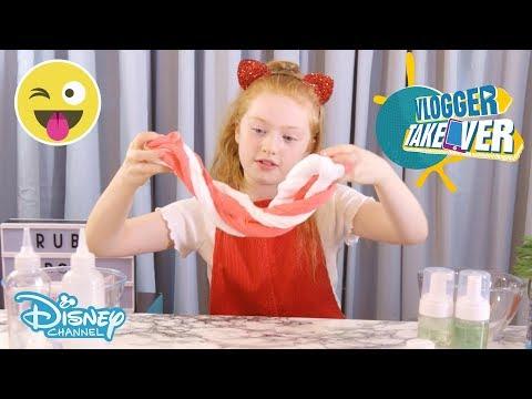 Vlogger Takeover | Christmas Slime DIY