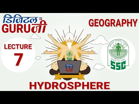 HYDROSPHERE | L7 | GEOGRAPHY  | SSC CGL 2017 | FULL LECTURE