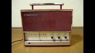 ナショナルの6石トランジスターラジオRE-190です。 昭和43年(1968)発売...