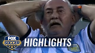 Higuain misses perfect one-on-one chance vs. Chile | 2016 Copa America Highlights