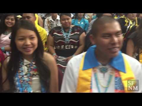 Santa Fe Indian School graduation 2016