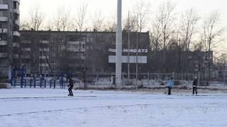 Катание на коньках вокруг стадиона Аргунь, г. Краснокаменск