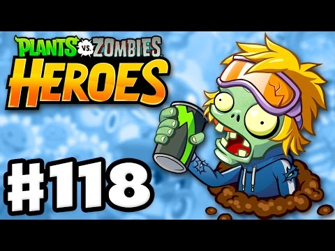Energy Drink Zombie! - Plants vs. Zombies: Heroes - Gameplay Walkthrough Part 118 (iOS, Android)
