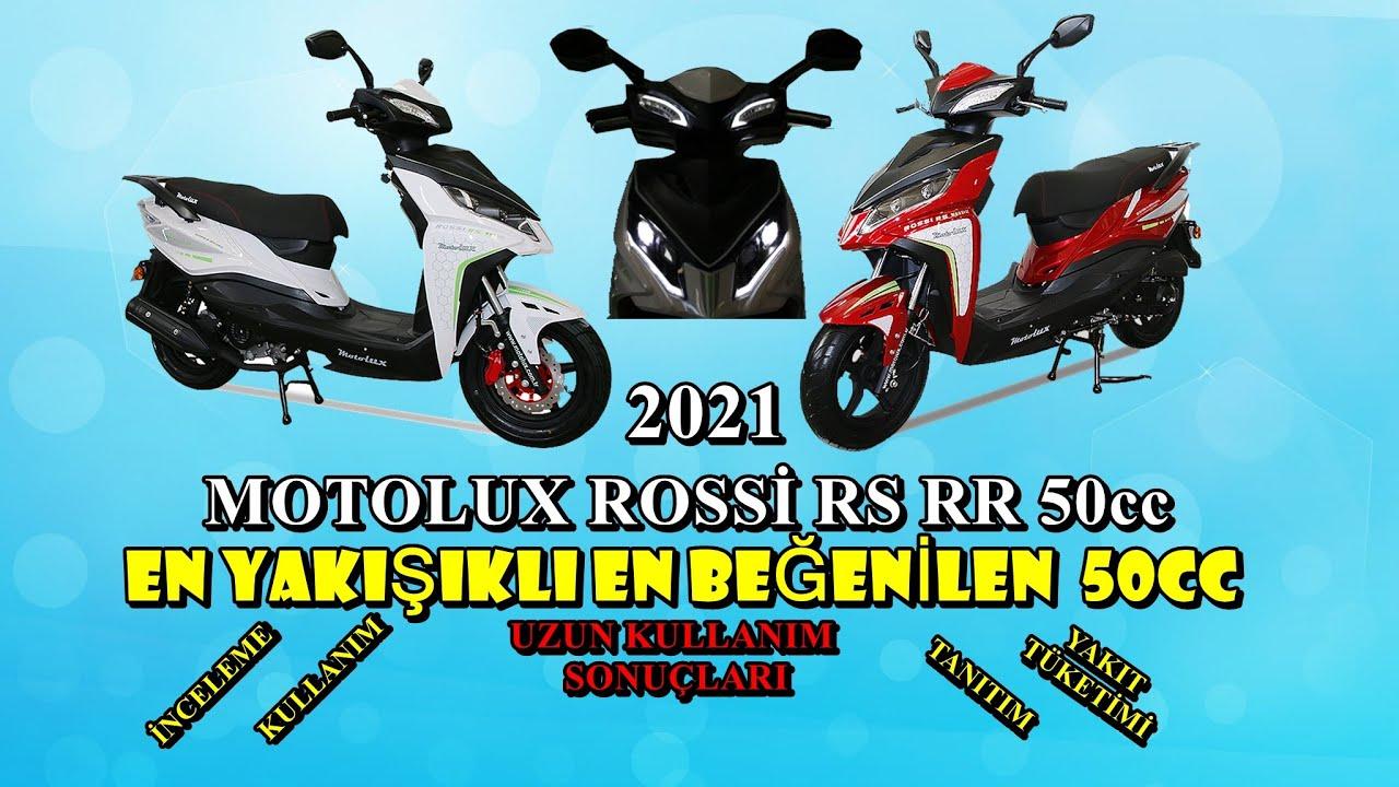 2021 En İyi En Güzel 50cc Motoru Motolux  Rossi RS 50cc İnceleme Tanıtım Uzun Kullanım Sonuçları