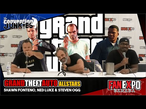 Grand Theft Auto's Shawn Fonteno, Ned Luke & Steven Ogg  Expo Canada 2018