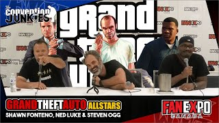 Grand Theft Auto's Shawn Fonteno, Ned Luke & Steven Ogg Fan Expo Canada 2018