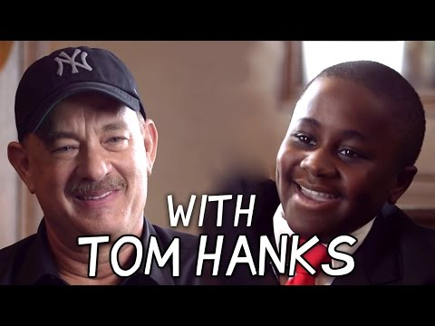 Kid President Talks to Tom Hanks about Heroes!