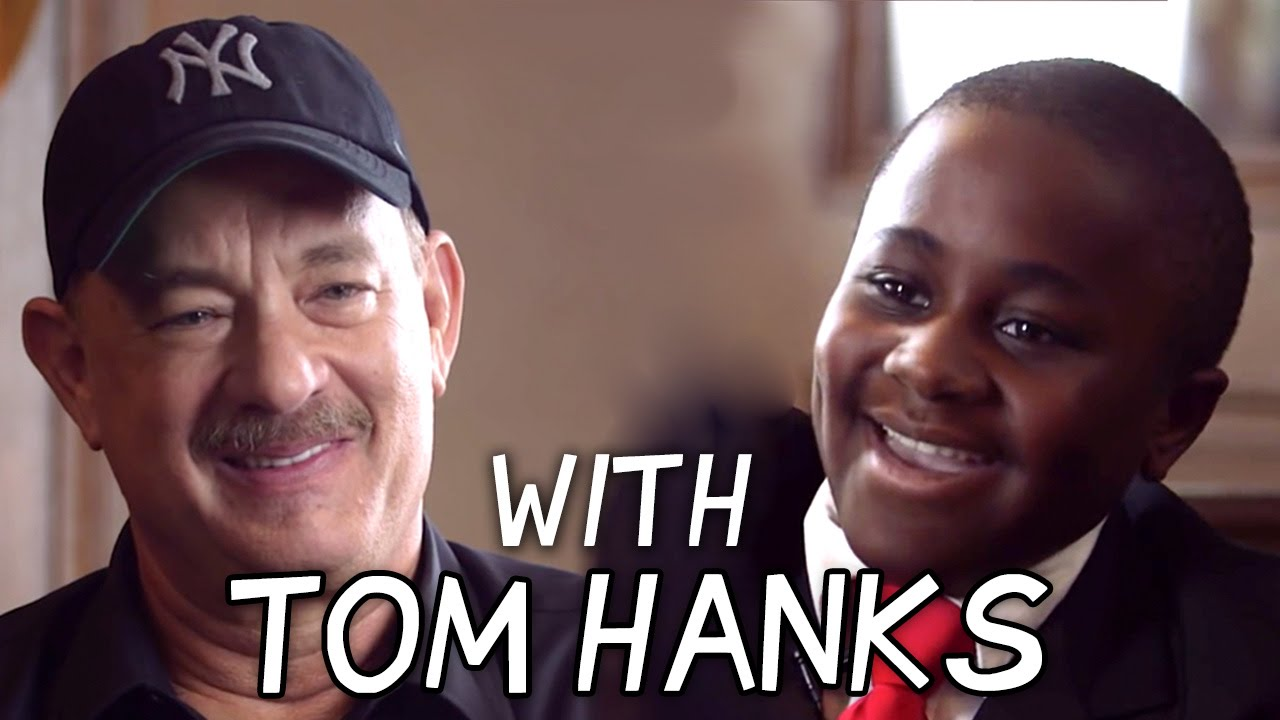 Kid President Talks to Tom Hanks about Heroes! - YouTube