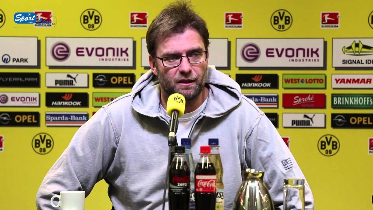 BVB Pressekonferenz vom 7. Februar 2013 vor dem Spiel  Borussia Dortmund gegen den Hamburger SV