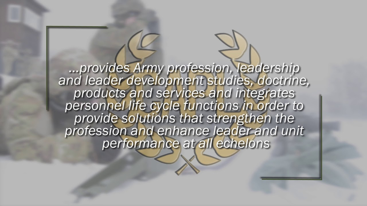 Center for the Army Profession and Leadership
