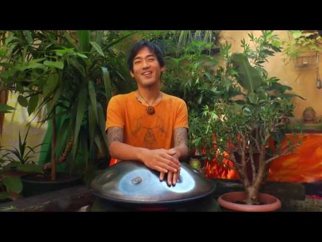 60 second handpan challenge with