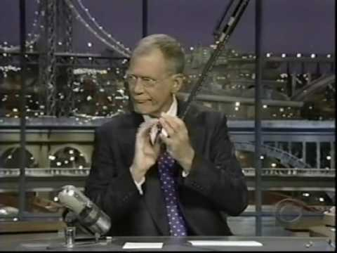 David Letterman  1st  After Heart Surgery