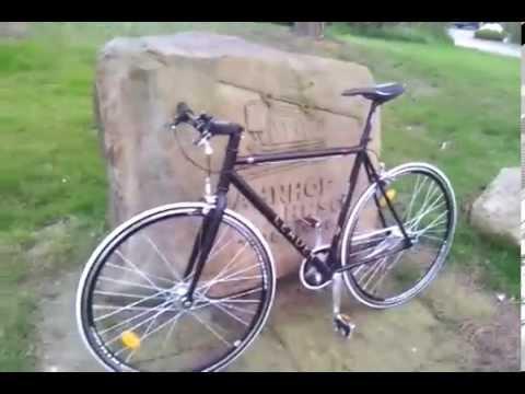 Leader Ff1 Singlespeed Bike Fixie Bei Greenbike Shop Youtube