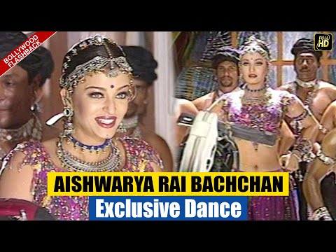Aishwarya Rai's EXCLUSIVE Never Seen Before GRACEFUL DANCE from the sets of Radhey Shyam Sita Ram