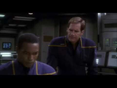 Star Trek Enterprise 1st space battle