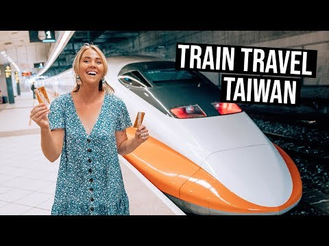 What is Train Travel like in Taiwan | High Speed Trains from Kaohsiung to Taichung