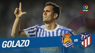 Download Video Golazo de Juanmi (2-0) Real Sociedad vs Atlético de Madrid MP3 3GP MP4