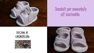 sandali per neonato all
