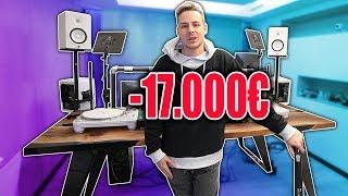 Mein NEUER, 17.000€ SCHREIBTISCH im neuen Büro SPACE