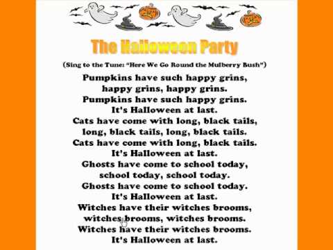 the halloween party halloween rhymes and songs youtube - Halloween Party Rules