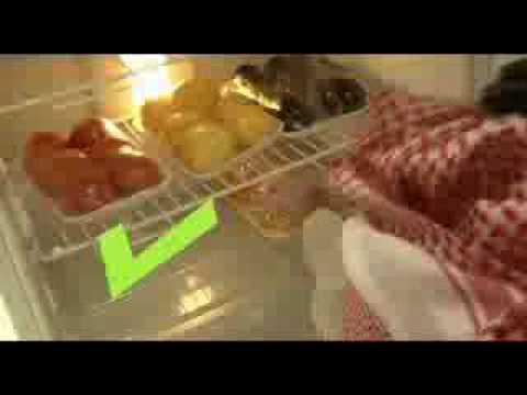 طريقة حفظ الأغذية في الثلاجة sfda