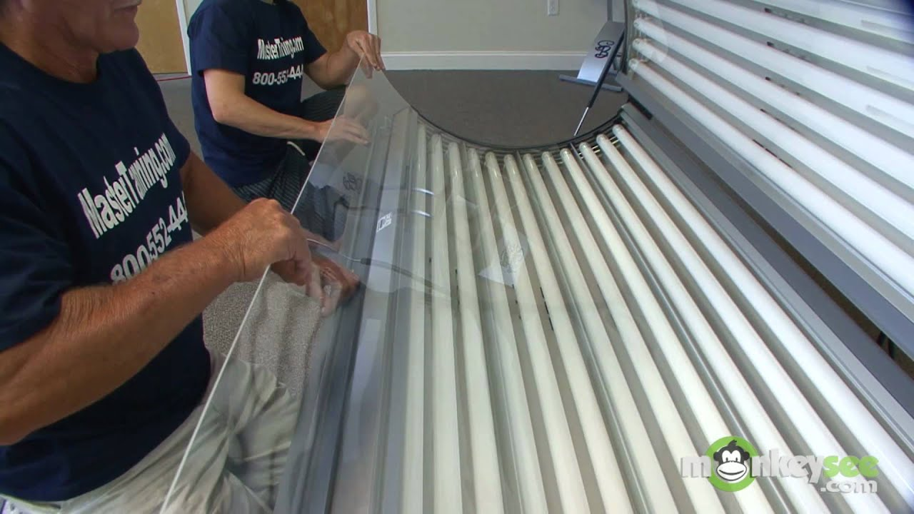 how to change your tanning bed lamps [ 1280 x 720 Pixel ]