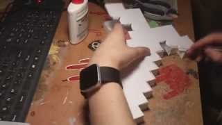 How to make Minecraft Paper Sword hand made Меч из бумаги сделать(I think the video is simple, but if you have any questions - ask)) http://vk.com/do_it_themselves - делитесь своими идеями и результатами творчества), 2012-12-27T02:24:05.000Z)