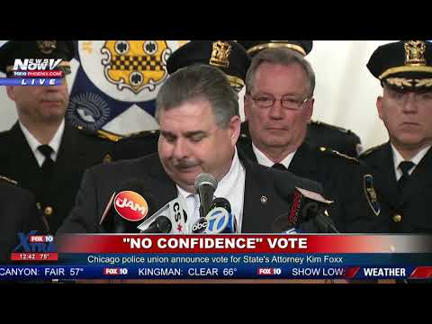 NO CONFIDENCE: Chicago Police Union Says Kim Foxx Needs To Go After Jussie Smollett Case Mp3