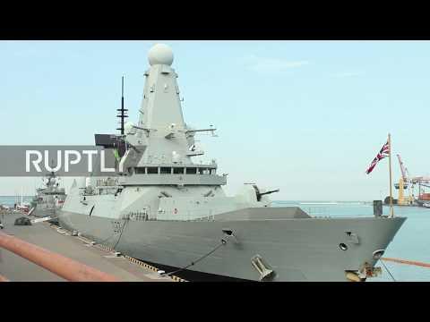 Ukraine: British destroyer and Turkish frigate arrive in Odessa for NATO drills