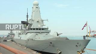 Ukraine: British destroyer and Turkish frigate arrive in Odessa for NATO drills