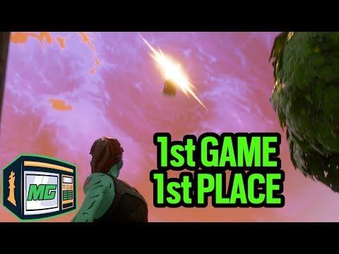 1st Game 1st Place - Fortnite Battle Royale