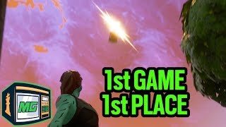1st Game 1st Place - Fortnite Battle Royale