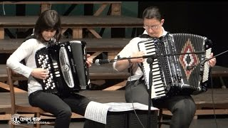 "Accordion Duet LE COMARI- XVIII° International Festival CHORUS INSIDE ""Summer"" 2015"