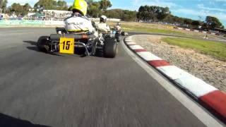 2011 Australian karting championships, Leopard Heavy heat 1, onboard Simon Gwilliam