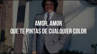 Amor amor letra