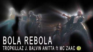 TROPKILLAZ J. BALVIN ANITTA ft MC ZAAC - BOLA REBOLA // Zumba Funk Choreo by Jose Sanchez