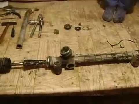 Ремонт рулевой рейки своими руками опель мерива