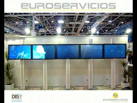 Euroservicios 3D Solar System syncronized content