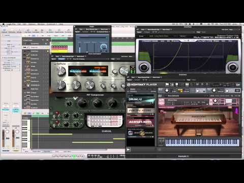 KG Versus U2 - New Year's Day - Kris Graham (Deep House Work-In_Progress_2014)