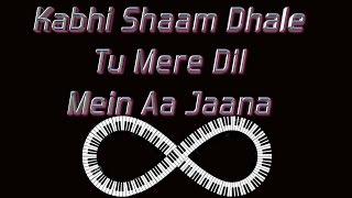 kabhi shaam dhale -SUR-on keyboard