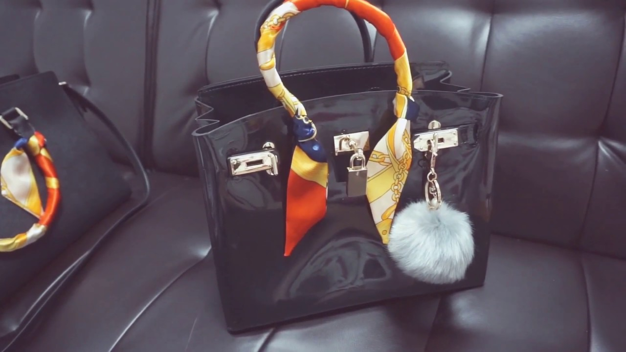 1906837d86 My jelly satchel Bag review - YouTube