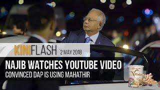 What Najib does in his car    KiniFlash - 2 May